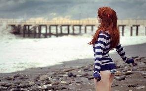 amateur photo Beach side