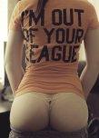 amateur photo Out of your League