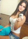 amateur photo Pretty brunette