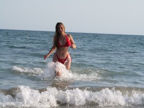 amateur photo Ukrainian Beach Goddess
