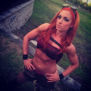 amateur photo Becky Lynch