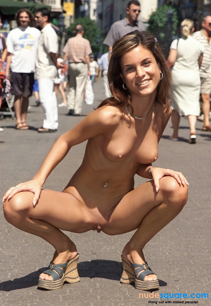 Exhibitionist nudes