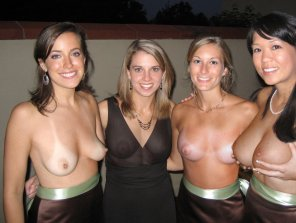 amateur photo Four lovely ladies