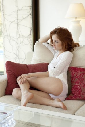 amateur photo a very foxy redhead