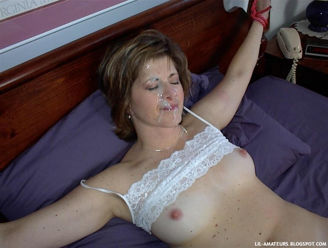 Mature naked tied up really