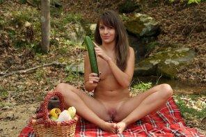 amateur photo Solo picnic