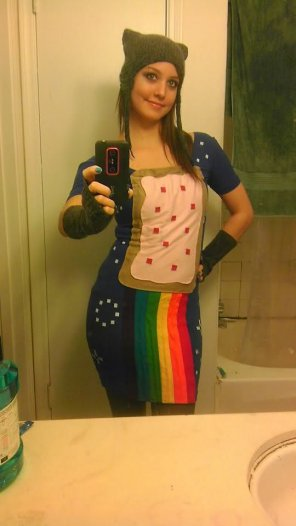 amateur photo Nyan Cat