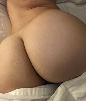 amateur photo My big satisfied ass