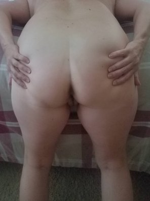amateur photo Bent over for you!