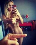 amateur photo One finger selfie challenge