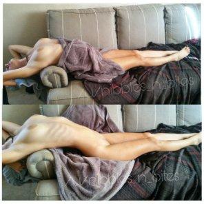 amateur photo Towel Stretch