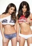 amateur photo Lucy Pinder and Rosie Jones