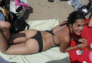 amateur photo Cutie at the beach