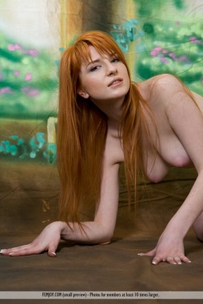 amateur photo Ginger for Femjoy