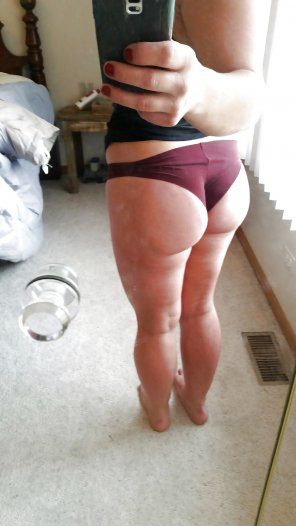 amateur photo Booty shot
