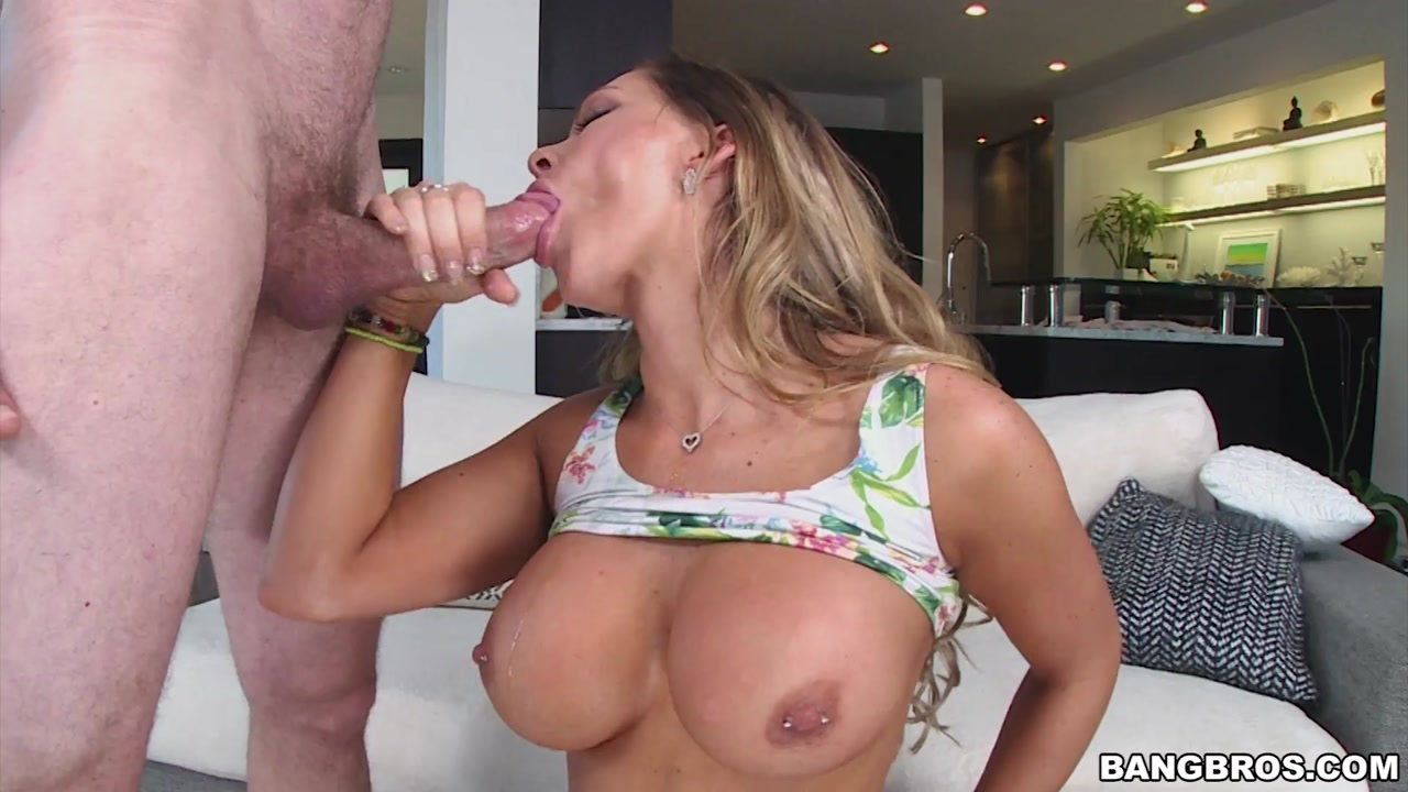 Sexy blonde lesbian