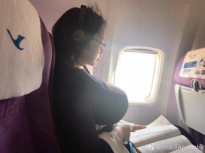 amateur photo Plane Trip