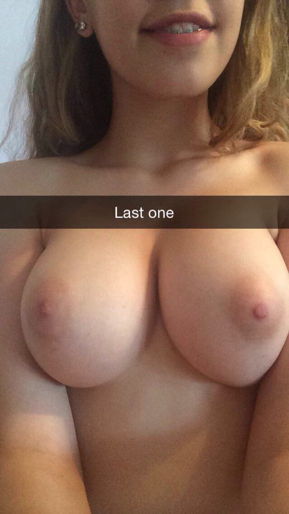 Teen Plays Her Big Boobs