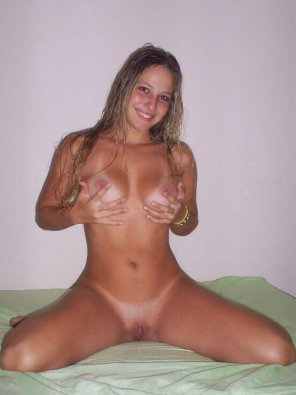 amateur photo She looks happy