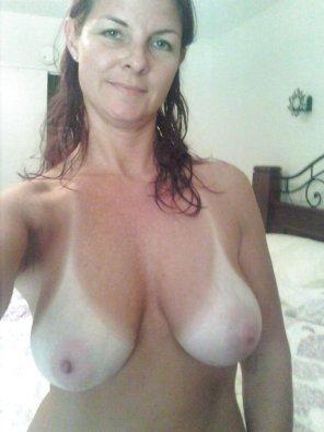amateur photo Naughty Mom Selfie!