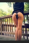 amateur photo Diva butt plug outdoor