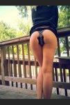 amateur photo Diva butt plug outdoor