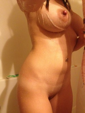 amateur photo [Image] My wife in the shower a few years ago....