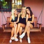 amateur photo Legs on a Bench