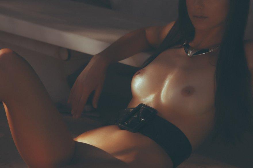 Big Black Belt Porn Photo
