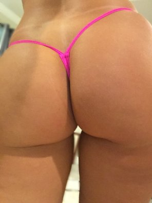 amateur photo Thong of the day!!! and hump day!!! Have a good one and enjoy my peach in a micro!!! 🍑