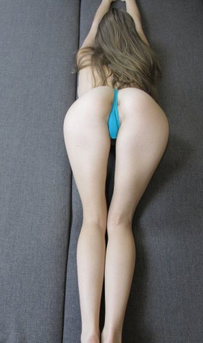 amateur photo My pussy is ready to wrap your cock, just pull those panties down [f]