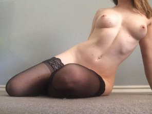 amateur photo [Image] Titties and thigh highs!