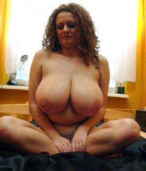 amateur photo Such a bosom...