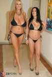 amateur photo Kelly Madison and Sienna West
