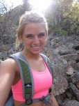 amateur photo Hiking babe