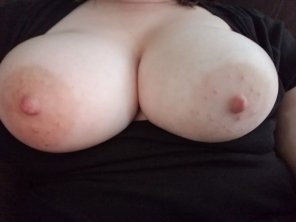amateur photo Wife tits