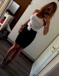 amateur photo Pencil skirt