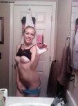 amateur photo Selfie with a smile