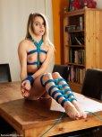 amateur photo Blue rope