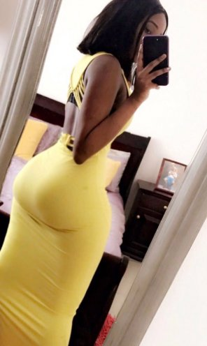 amateur photo Thank God for tight dresses