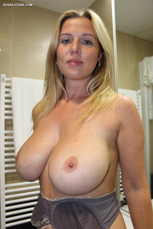 Blonde And Busty Milf Porn Photo