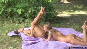 amateur photo Angel Piaff and Lexi Dona