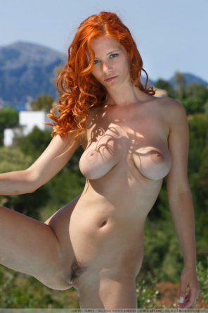 amateur photo Hot redhead