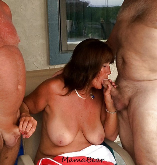 Mama loves gangbangs Porn Photo