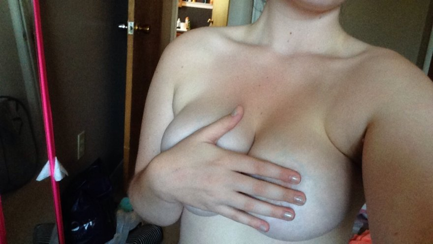 Hand bra Porn Photo