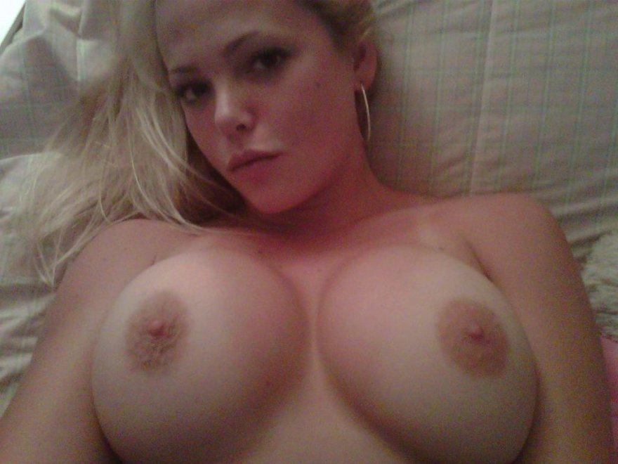 Lying in bed Porn Photo