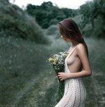amateur photo Beautiful bouquet