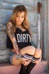 amateur photo Dirty girl