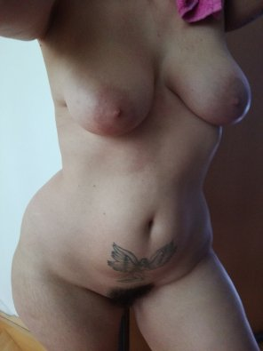 amateur photo [F]resh from the shower