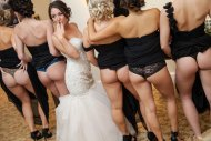 amateur photo Naughty wedding